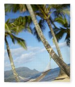Hanalei Bay, Hammock Fleece Blanket