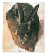 Hare 1528  Fleece Blanket