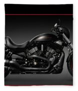 Harley Davidson Vrscd Night Rod Special Fleece Blanket