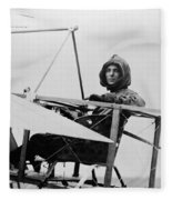 Harriet Quimby (1875-1912) Fleece Blanket
