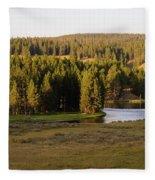 Hayden Valley 2 Fleece Blanket