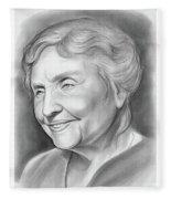 Helen Keller Fleece Blanket