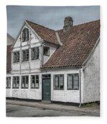 Helsingor Old Building Fleece Blanket