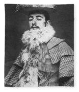 Henri De Toulouse-lautrec Fleece Blanket