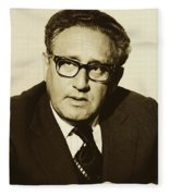 Henry Kissinger 1976 Fleece Blanket