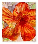 Hibiscus 2 Fleece Blanket