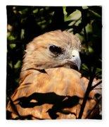 Hiding In The Trees Fleece Blanket
