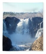 High Falls Fleece Blanket