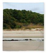 Hilton Head Island Shoreline Fleece Blanket