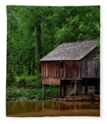 Historic Rikard's Mill - Alabama Fleece Blanket