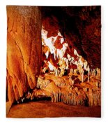 Hometown Series - Luray Caverns Fleece Blanket