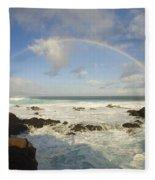 Hookipa Beach Fleece Blanket