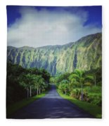 Ho'omaluhia Botanical Garden Fleece Blanket