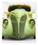 Hot Rod Ford Coupe 1938 Fleece Blanket