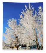 House On The Outskirts 2 Fleece Blanket