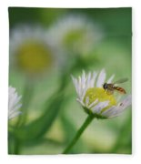 Hoverfly Fleece Blanket
