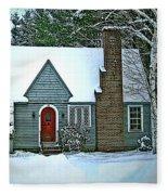 Howland House In Windsor Fleece Blanket
