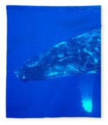 Humpback Whale Fleece Blanket