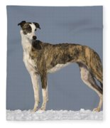 Hungarian Greyhound Fleece Blanket