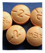 Hydromorphone 2 Mg Tablets Fleece Blanket