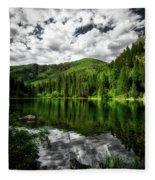 Idyllic Colorado Fleece Blanket