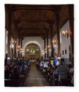 Iglesia Nuestra Senora De La Asuncion Ahuachapan Fleece Blanket