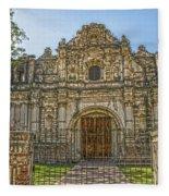 Iglesia San Jose El Viejo - Antigua Guatemala Hdr Fleece Blanket
