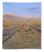 Interstate 15, Near Las Vegas, After Fleece Blanket
