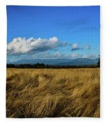 Into The Grasslands. Fleece Blanket
