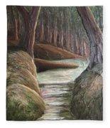 Into The Woods II Fleece Blanket