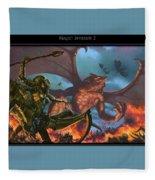 invasion2 Matthew Stawicki Fleece Blanket