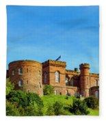 Inverness Castle, Scotland Fleece Blanket
