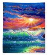 Island Paradise Fleece Blanket