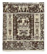 Italian Renaissance Fleece Blanket