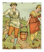 Jack And Jill Fleece Blanket
