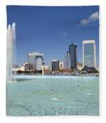 Jacksonville Florida  Fleece Blanket