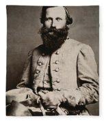 James E. B. Jeb Stuart Fleece Blanket