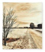January Fleece Blanket