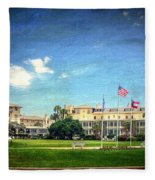 Jekyll Island Club Hotel Fleece Blanket