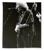 Grateful Dead - Jerry Garcia - Celebrities Fleece Blanket