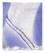 Jerusalem-triptych First Part Fleece Blanket
