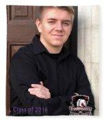 Jesse Cline - Class Of 2016 Fleece Blanket