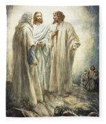 Jesus Fleece Blanket