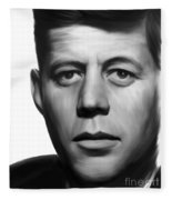 JFK Fleece Blanket