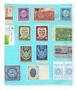 Jnf Stamps  Fleece Blanket