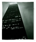 John Hancock Building - Chicago Illinois Fleece Blanket