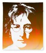 John Lennon The Legend Fleece Blanket