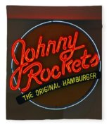 Johnny Rockets Fleece Blanket