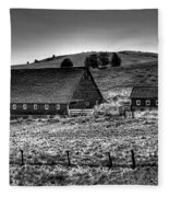 Johnson Road Barns Fleece Blanket