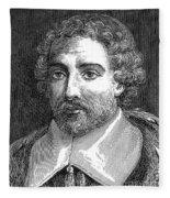 Joseph De Tournefort, French Botanist Fleece Blanket